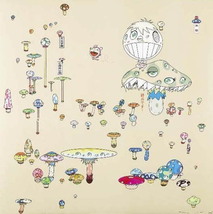 Takashi Murakami-Making a U-Turn, the Lost Child Finds His Way Home-2005