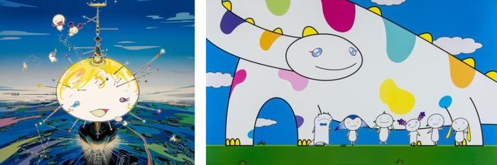 Takashi Murakami-Mamu came from the sky, Yoshiko and the creatures from Planet 66-2007