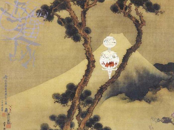 Takashi Murakami-Manji Fuji-2001
