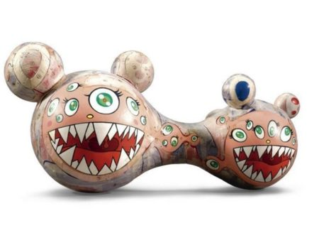 Takashi Murakami-Maquette for DOB sculpture-1996