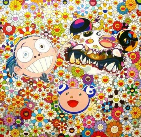 Takashi Murakami-Me and Double-DOB-2009
