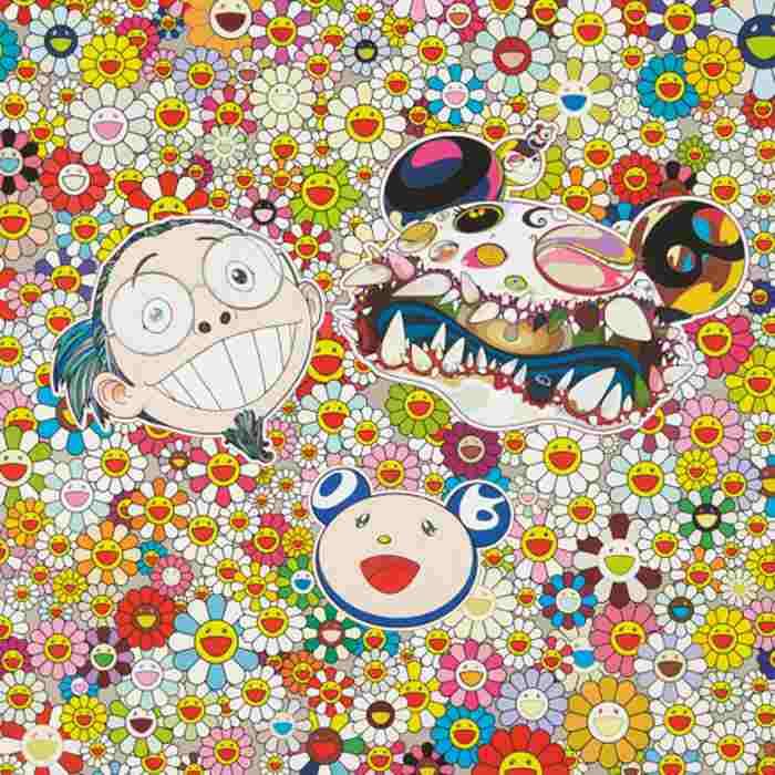 Takashi Murakami-Me and Double-DOB-2013