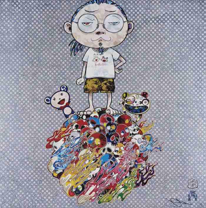 Takashi Murakami-Me and the Mr. DOBs-2013
