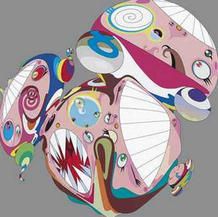 Takashi Murakami-Meltin DOB E-2001