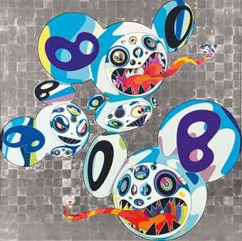 Takashi Murakami-Melting DOB: Complex Blue-2013