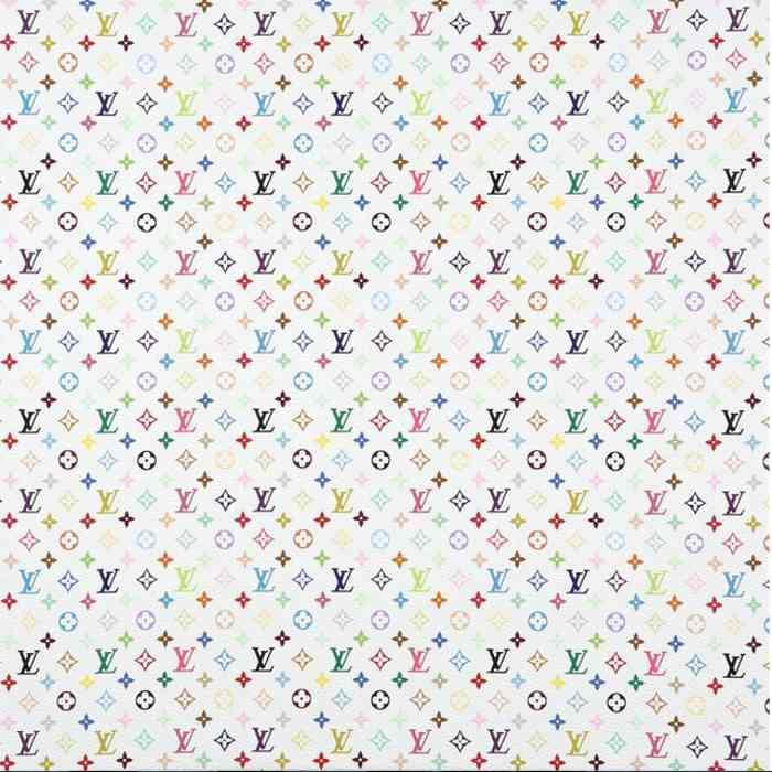 Takashi Murakami-Monogram mini Multicolor White-2007