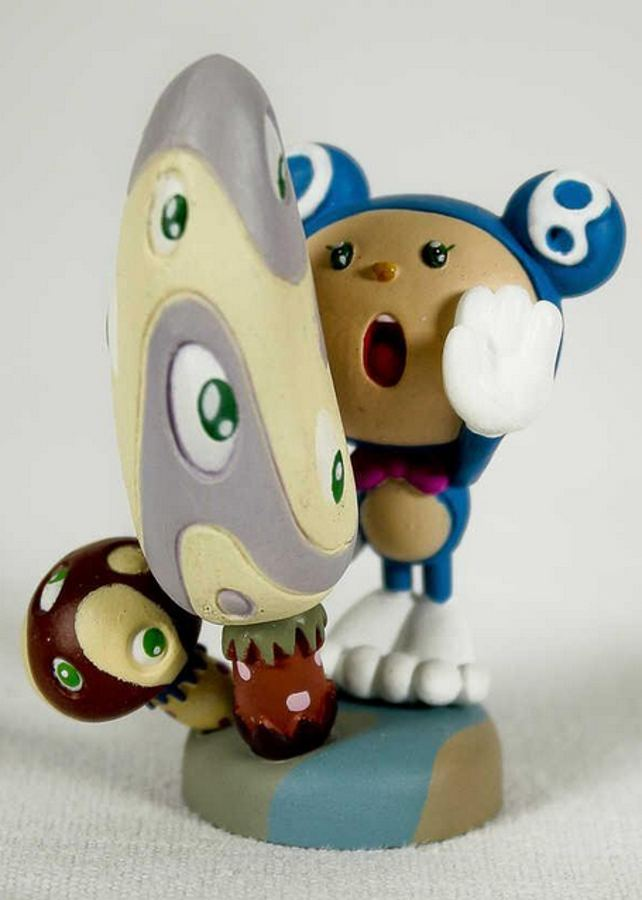 Takashi Murakami-Mr. DOB And Mushrooms-2003