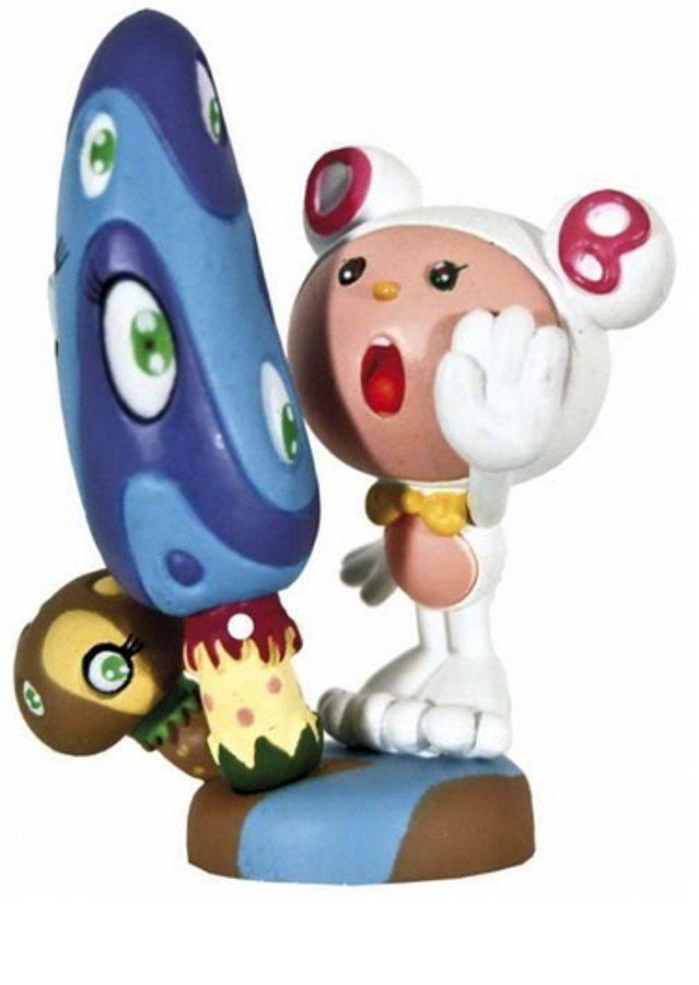 Takashi Murakami-Mr. DOB & Mushrooms-White-2004