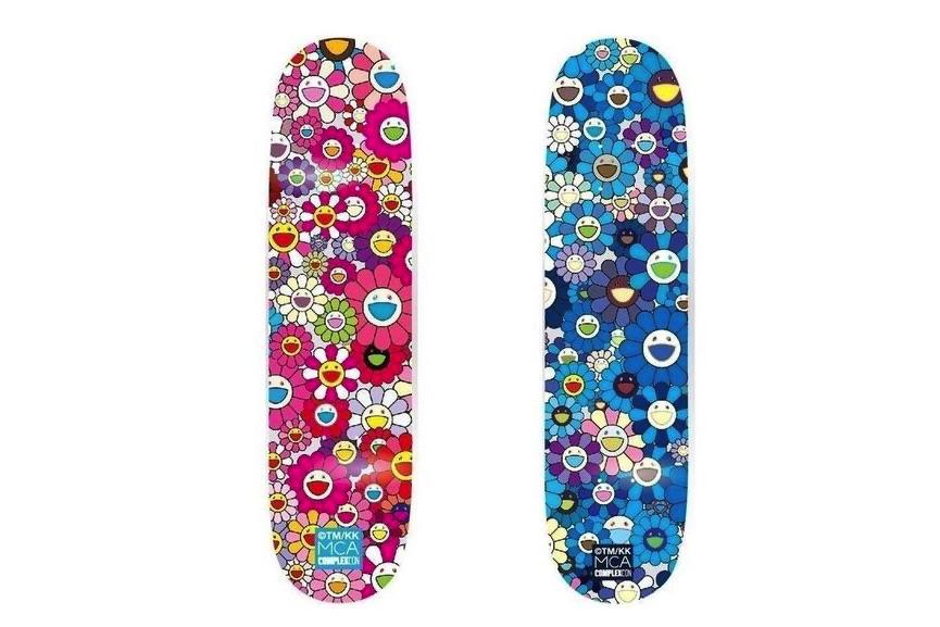 Takashi Murakami - Multi Flower 8.0 Skate Deck - Pink an, 2017