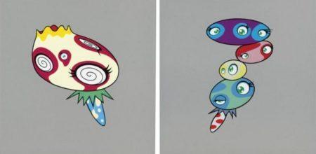 Takashi Murakami-Mushroom 1, Mushroom 2-2001