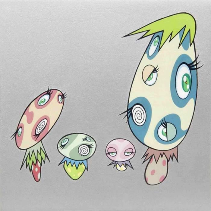Takashi Murakami-Mushroom-2000