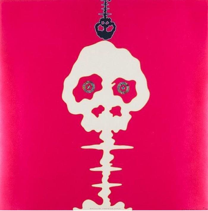 Takashi Murakami-Mushroom Bomb Pink-2001