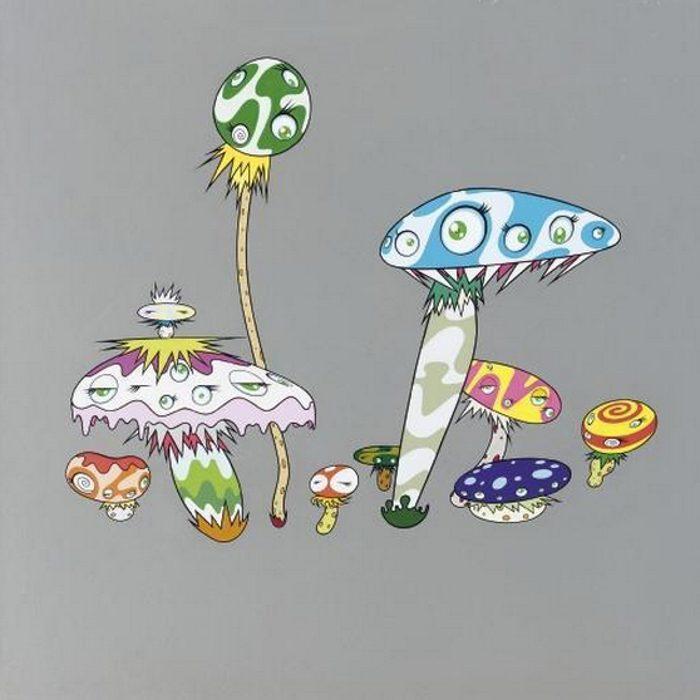 Takashi Murakami-Mushroom Painting #6-2000
