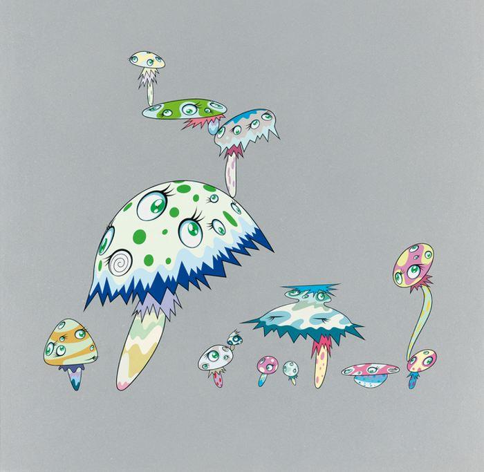 Takashi Murakami-Mushroom Youkai-2000