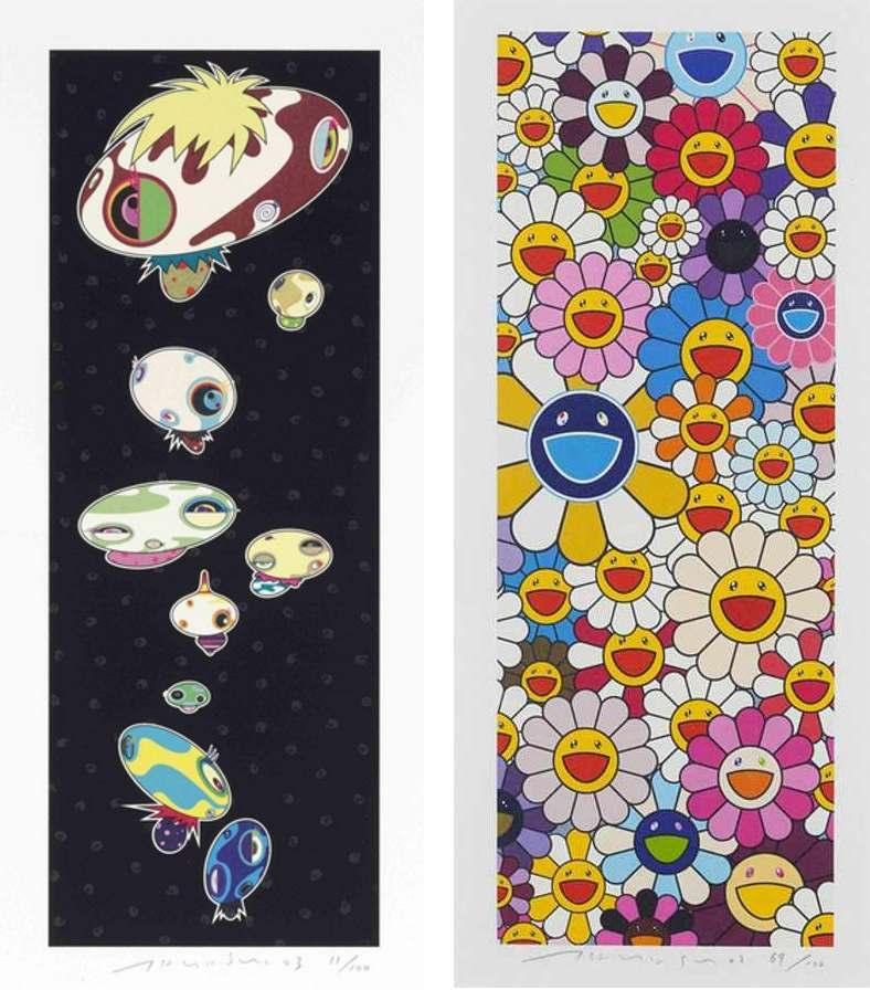 Takashi Murakami-Mushroomers, Floflowers-2003