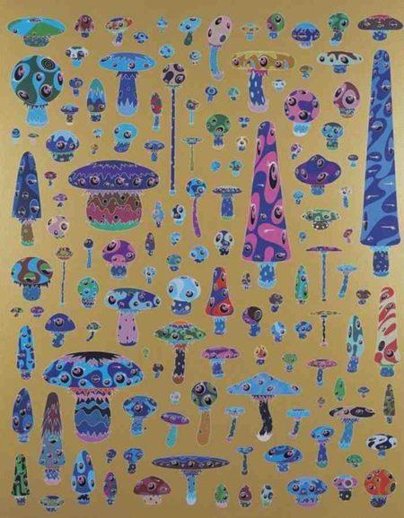 Takashi Murakami-Nega Mushroom-2000