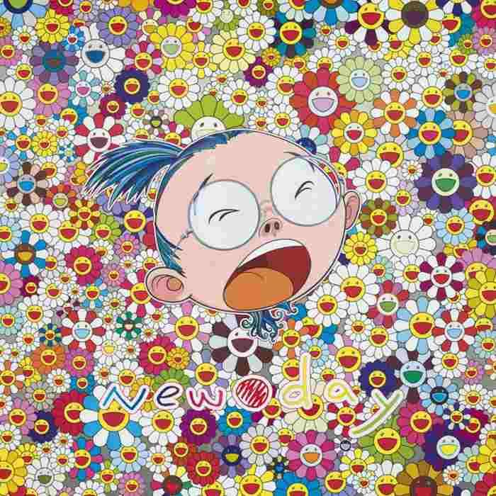 Takashi Murakami-New Day-Face of the Artist-2011