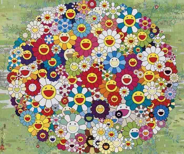 Takashi Murakami-Open Your Hands-2010