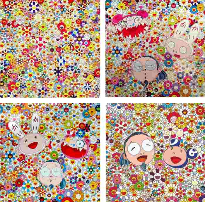 Takashi Murakami-Open Your Hands Wide, Kaikai Kiki and Me-The Shocking Truth Revealed, Kaikai Kiki and Me-For Better or Worse..., Me and Mr. DOB-2010