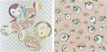 Takashi Murakami-Para-Kiti DOB, Jelly Fish Eyes-2001