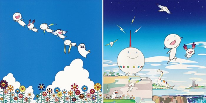 Takashi Murakami-Planet 66, Planet 66-Summer Vacation-2004