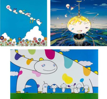 Takashi Murakami-Planet 66-Summer Vacation, Mamu Came from the Sky, Yoshiko and the Creatures from Planet 66-2007