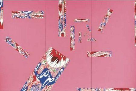 Takashi Murakami-Po + Ku Surrealism (Pink)-1999