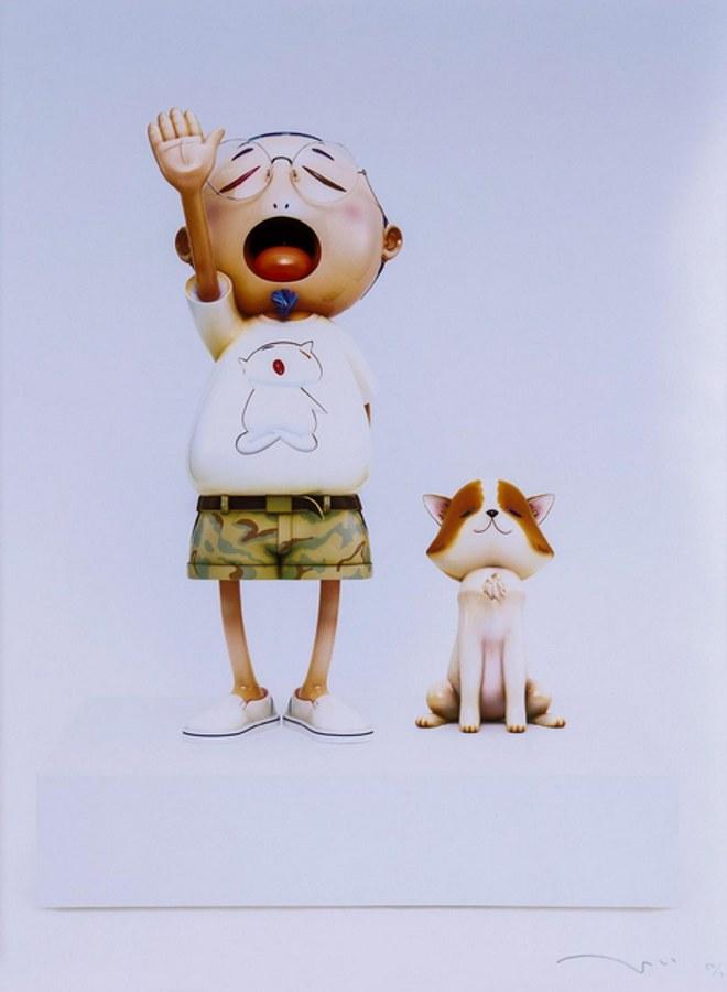 Takashi Murakami-Pom & Me-2010