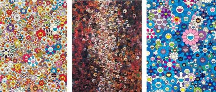 Takashi Murakami-Poporoke Forest, I Know Not I Know, An Homage to Ikb 1957-2011