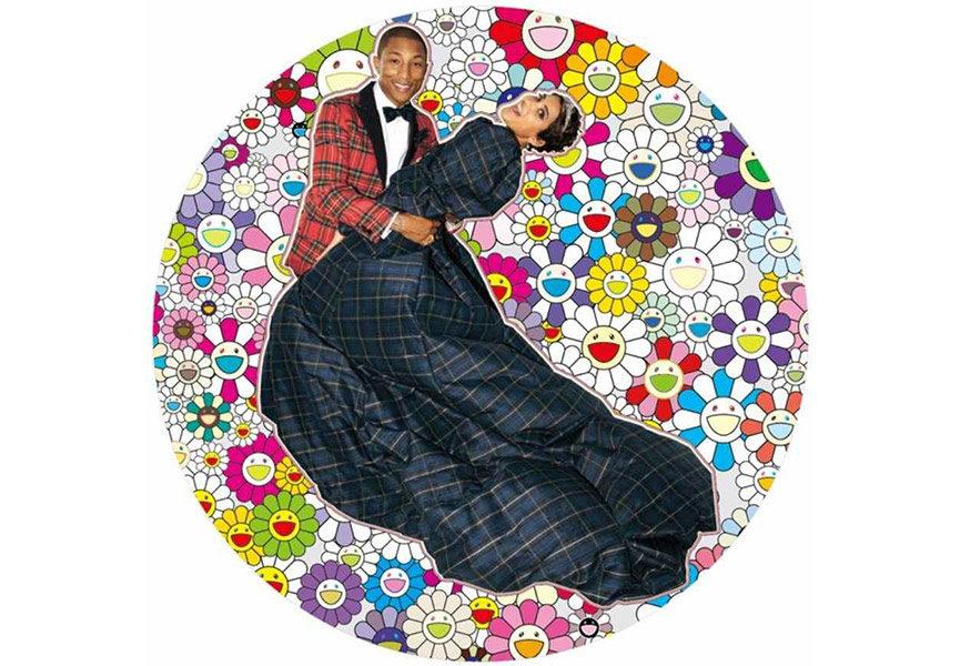 Pharrel Williams and Helen