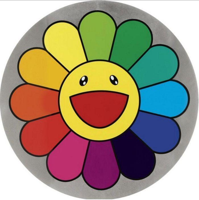 Takashi Murakami-Rainbow Flower 11 O'Clock-2007
