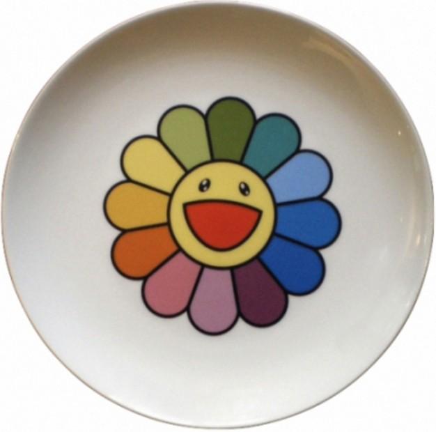 Takashi Murakami-Rainbow Flower-