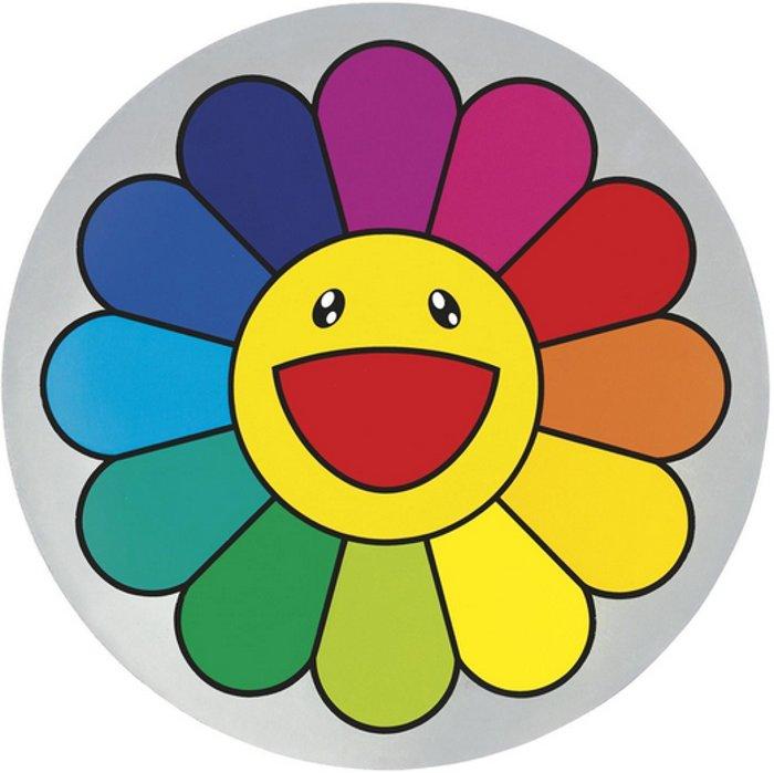 Takashi Murakami-Rainbow Flower 5 O'Clock-2007