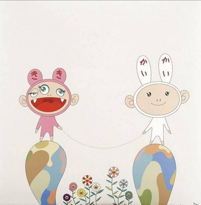Takashi Murakami-Red Rope-2001