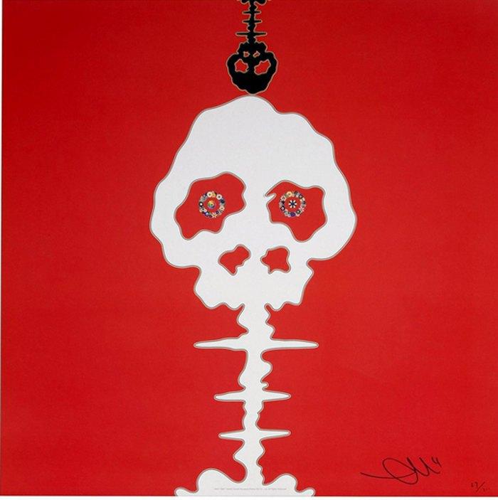 Takashi Murakami-Time Red-