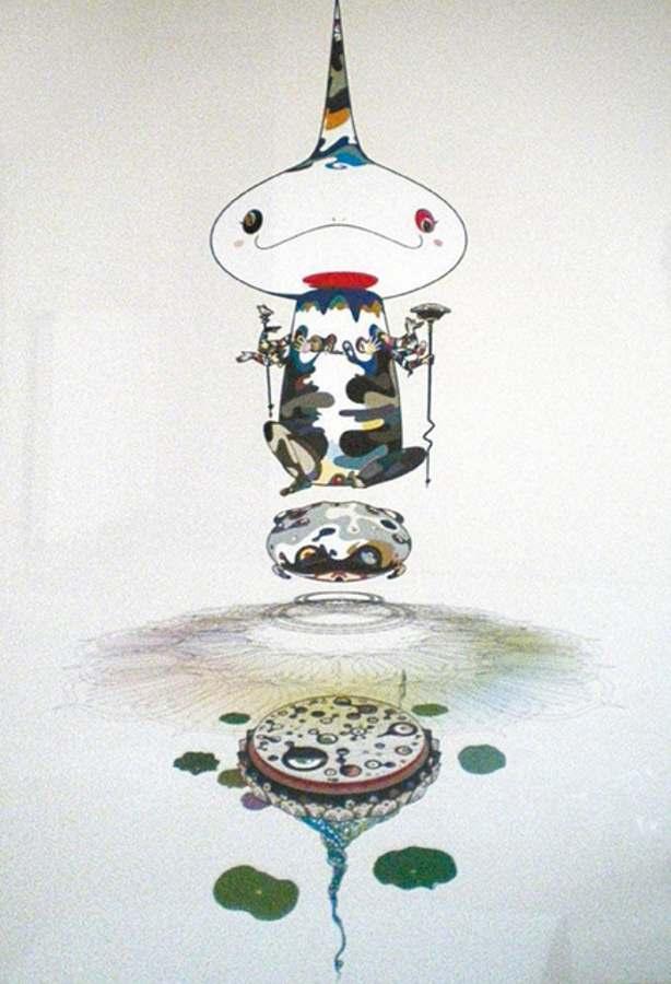 Takashi Murakami-Reversed Double Helix-2005