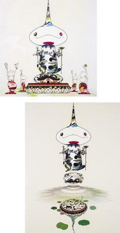 Takashi Murakami-Reversed Double Helix Mega Power, Reversed Double Helix-2005