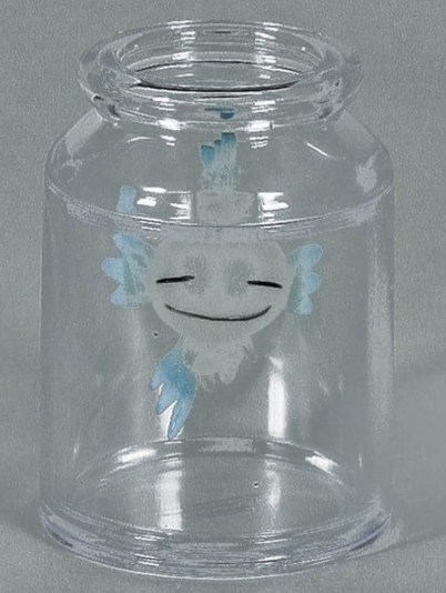 Takashi Murakami-Rumble-Kun In A Jar-2003