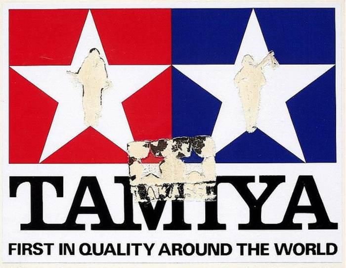 Takashi Murakami-Signboard TAMIYA-1992