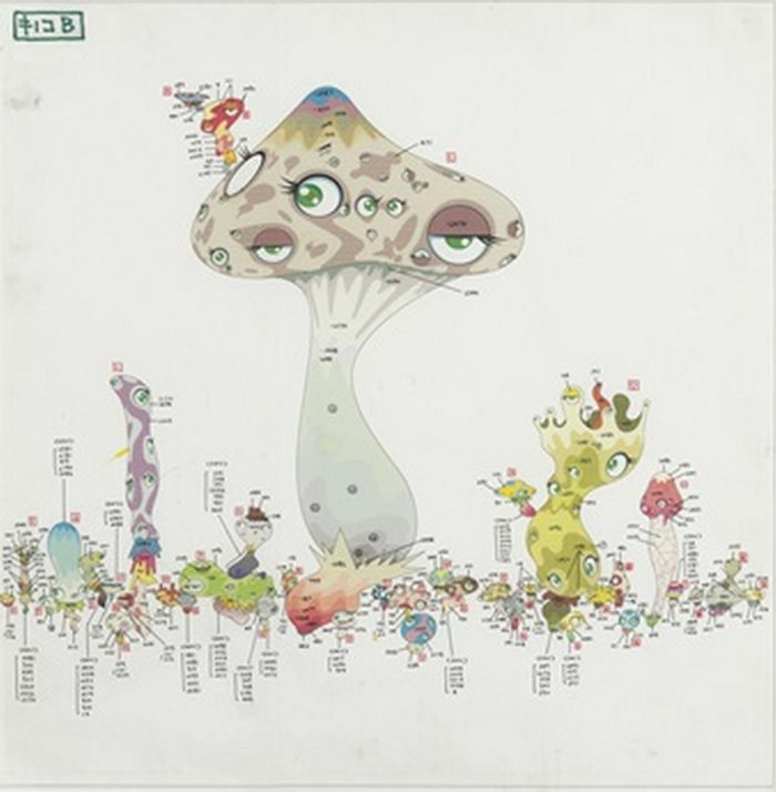 Takashi Murakami-Smooth Nightmare Drawing-2000