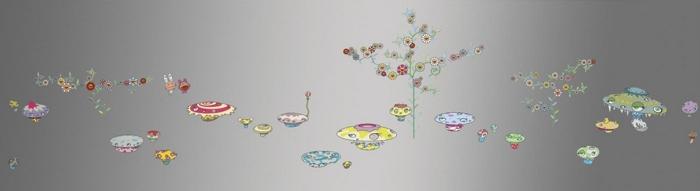 Takashi Murakami-Soutatsu Garden-2000