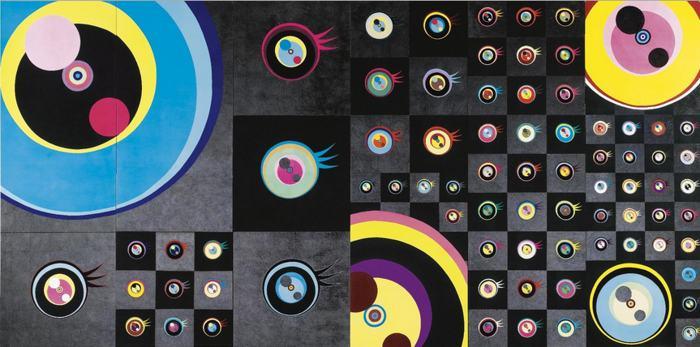 Takashi Murakami-Superflat Jellyfish Eyes 1-2003