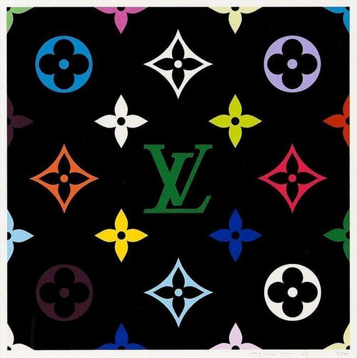 Takashi Murakami-Superflat Monogram Green-2003