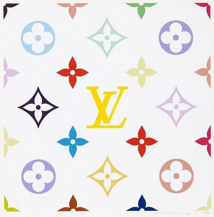 Takashi Murakami-Superflat Monogram Lemon-2003