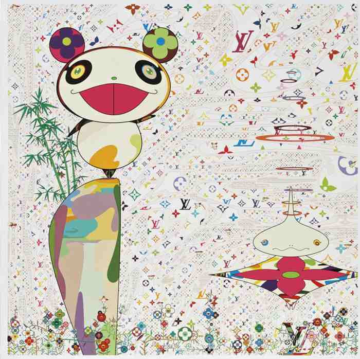 Takashi Murakami-SUPERFLAT Monogram: Panda & His Friends-2005