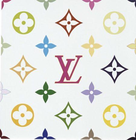Takashi Murakami-Superflat Monogram (White)-2004