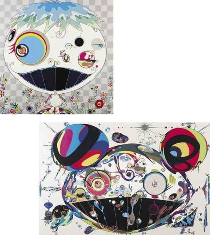 Takashi Murakami-Tan Tan Bo, Jellyfish-2004
