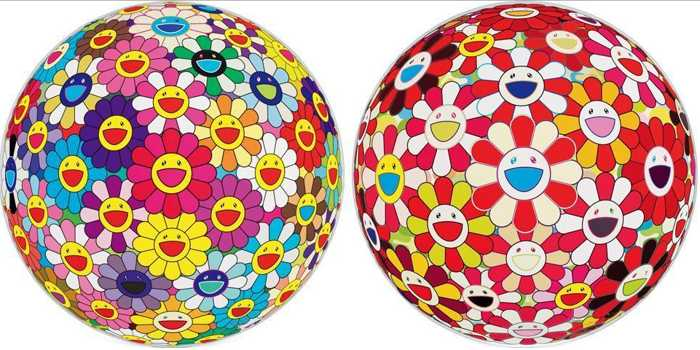 Takashi Murakami-The Bouquet-Color of Goldfish (3D), The Bouquet (3D)-2008