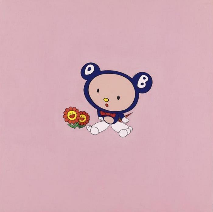 Takashi Murakami-Untitled (DOB)-1998
