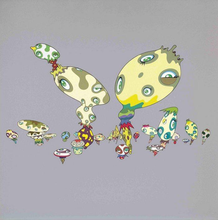 Takashi Murakami-Van Gogh-2001